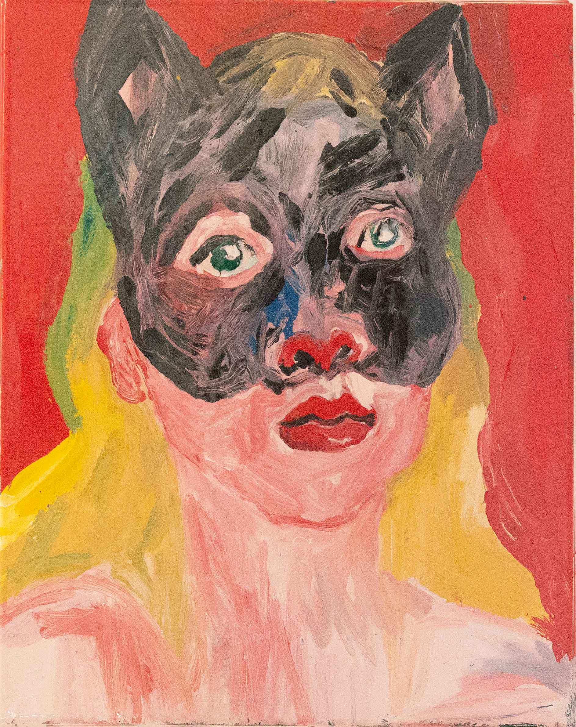 Autoportrait-au-masque-de-chat