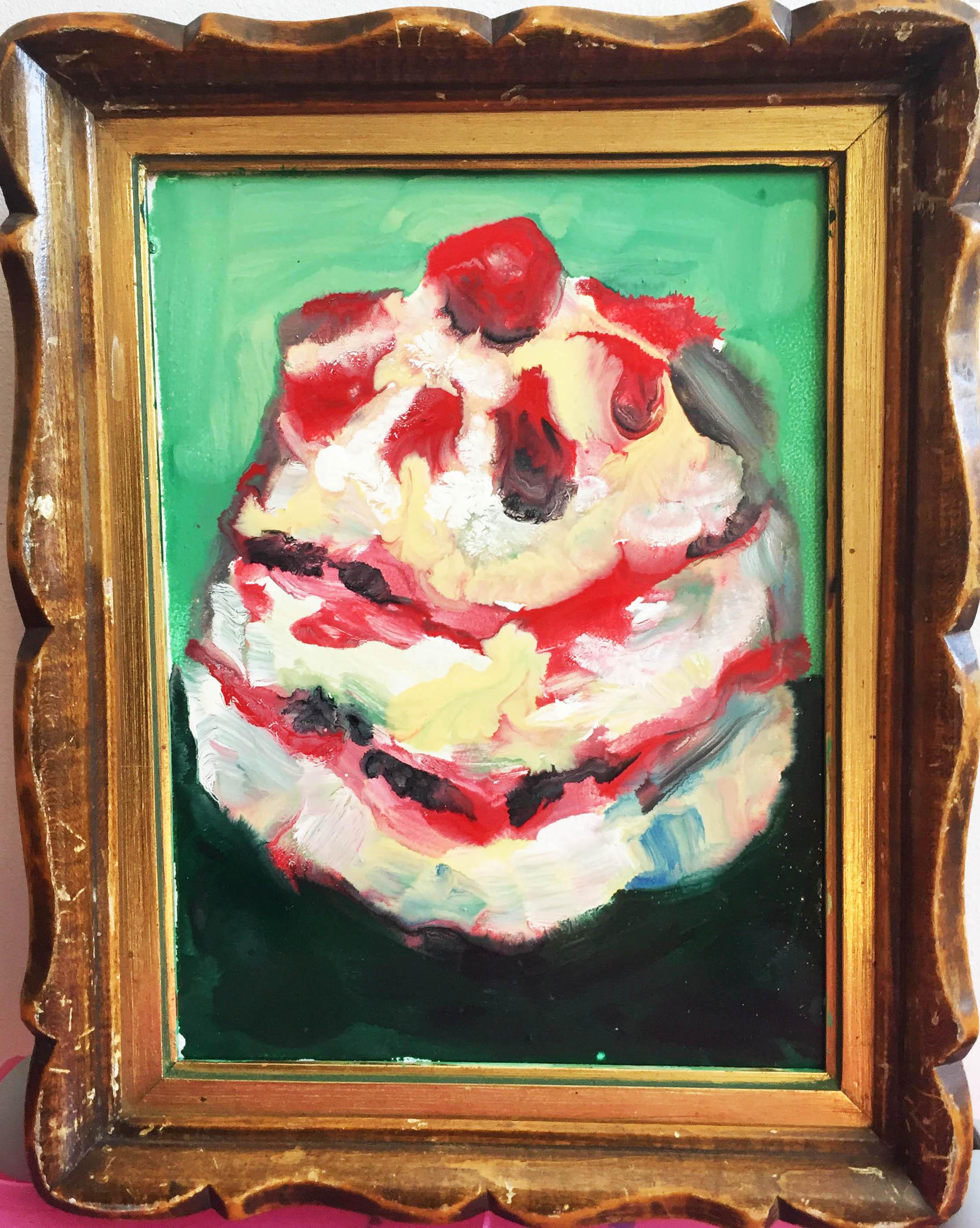 Mille feuille fraise 24x18cm
