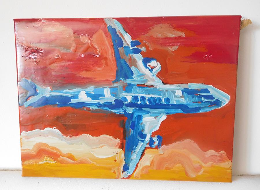 tableau avion