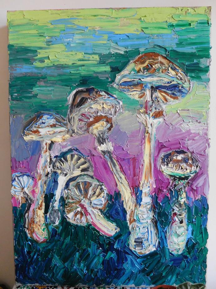 Tableau champignons