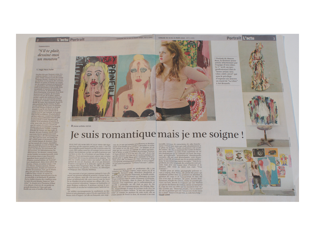 Article presse Arts Libre 2010