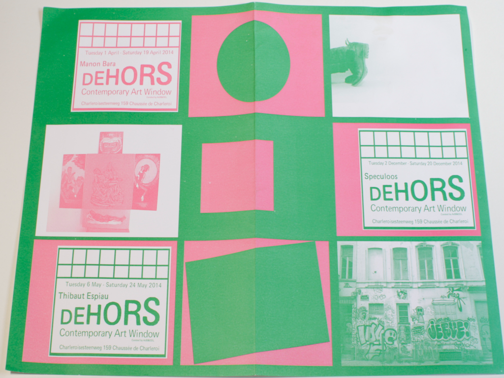 Publication DEHORS Contemporary Art Window