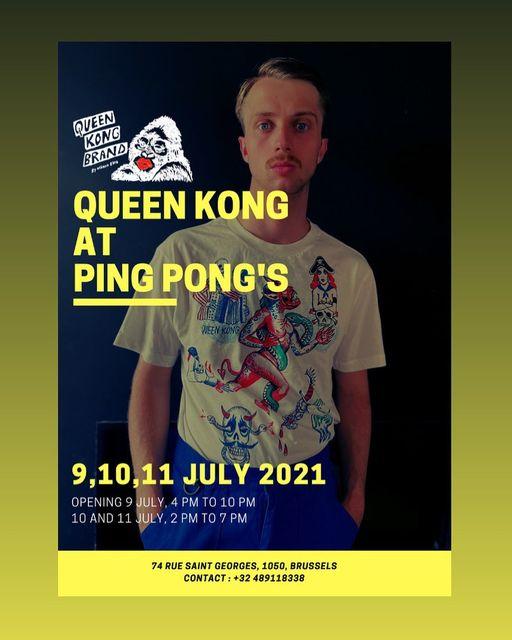 QUEEN KONG AT PING PONG
