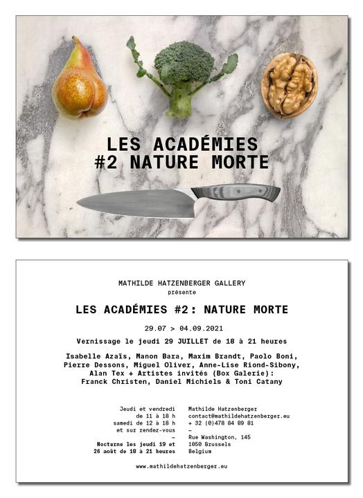 Invitation expo Les Académies